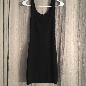 Misguided Black mini dress size 2